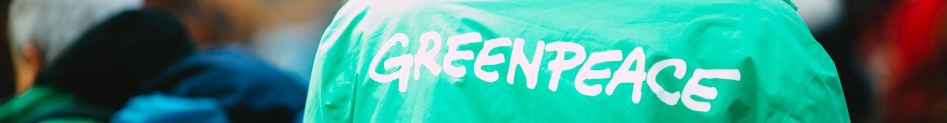 "Het thema is ""Milieu"" – Greenpeace"
