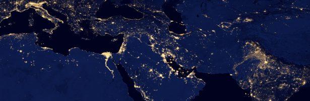 Spanning in het Midden-Oosten