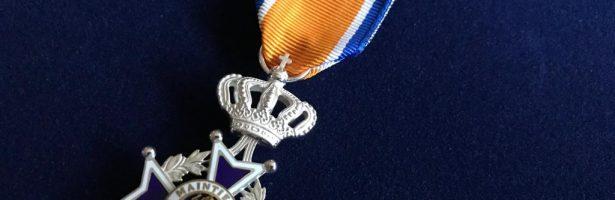 Koninklijke onderscheiding voor oprichters Vredescafé